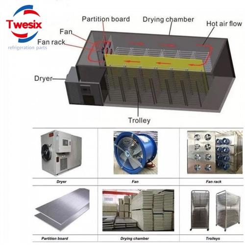 High Technology Hot Air Mushroom Dewatering Dehydration Drying Machine